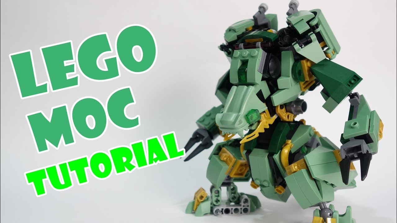 Lego Ninjago Set 70612 alternate build Dragon Mech Suit ...