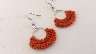 How To Create Pretty Crochet Earrings - DIY Crafts Tutorial - Guidecentral