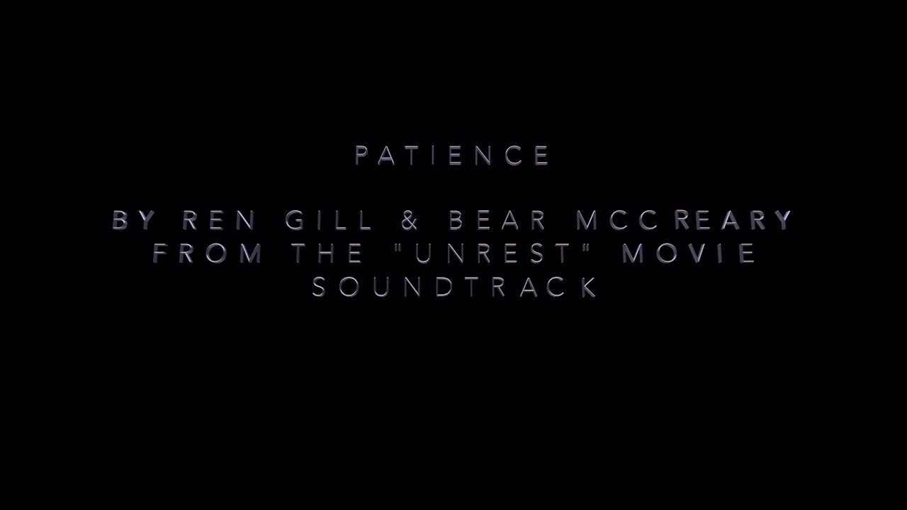 quotpatiencequot by ren gill lyric video from the quotunrest