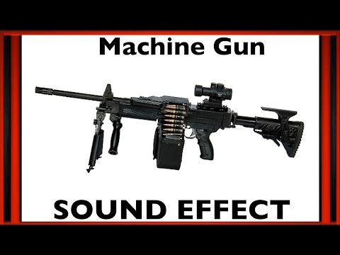Machine Gun Sound Effect | Sfx | HD