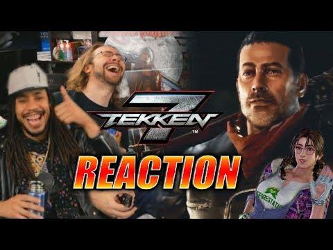 DOODS REACT: Negan & Julia - Tekken 7 Release Trailer