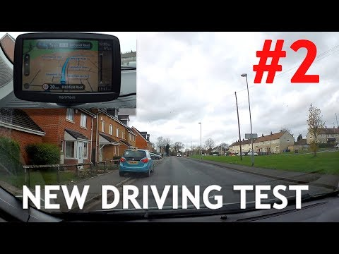 Real Example #2 of New Test Route with Sat Nav - Driving Tes