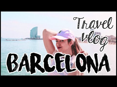 BARCELONA TRAVEL VLOG⎮Lady Scarlett