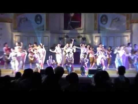 การแสดง ชุด สะอ๋อนโคราช ด๊ะดาดรำโทน โดยโปรแกรมวิชานาฏศิลป์ ม.ราชภัฏนครราชสีมา