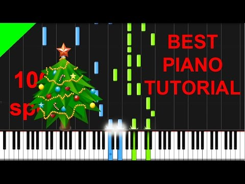 We Wish You A Merry Christmas (Advanced) Piano Tutorial + Free Sheets & Midi