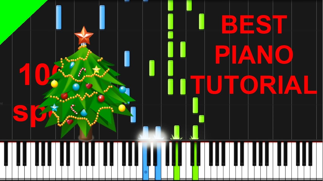 We Wish You A Merry Christmas (Advanced) Piano Tutorial + Free ...
