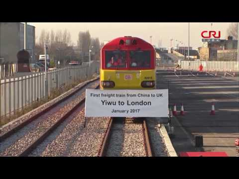 Çin'e Giden İlk Kargo Treni Londra'dan...