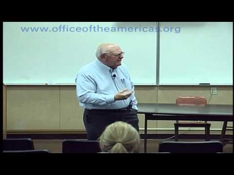Blase Bonpane Speaks on Liberation Theology - Cerritos College: Part 1