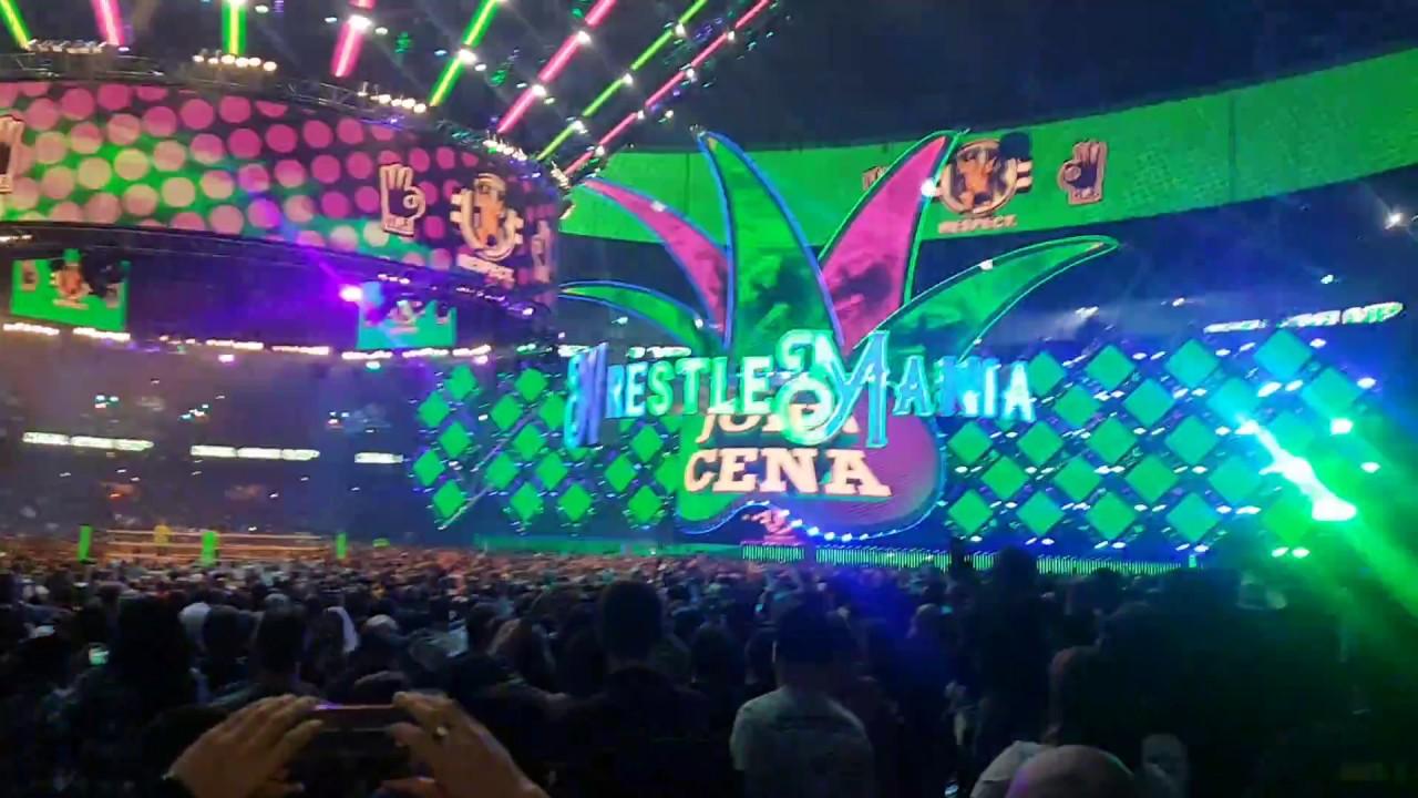 Download WrestleMania 34 LIVE FULL Undertaker Returning Entrance & John Cena Entrance