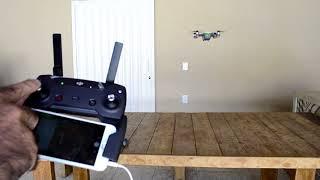 Comandos básicos Drone DJI Spark