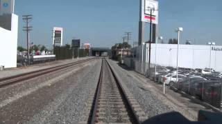 Riding Behind ATSF 3751 from San Bernardino to Los Angeles HD