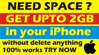 how to free memory in iphone hindi 😍 Manage Storage and Free Up Space On any iPhone, iPad iPod