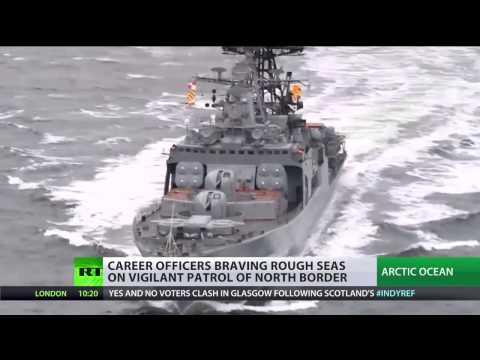 Russian Northern Fleet Pushes Warships To The Limit In The Brutal Arctic