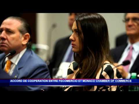 Accord de coopération entre Fecomercio et Monaco Chamber of Commerce