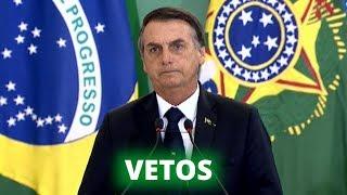 Destaques – Setembro 2019 - Bolsonaro veta 36 pontos da Lei de Abuso de Autoridade - 05/09/19