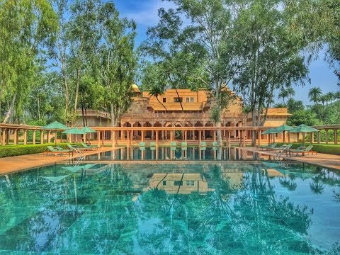 Amanbagh, Rajasthan, India - Pool Pavilion | WALKTHROUGH HOTEL REVIEW