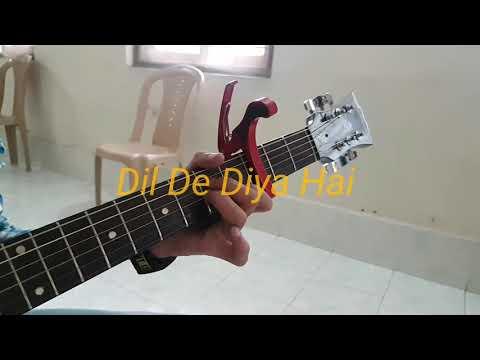 ||-dil-de-diya-hai-||-masti-||-guitar-tutorial-||