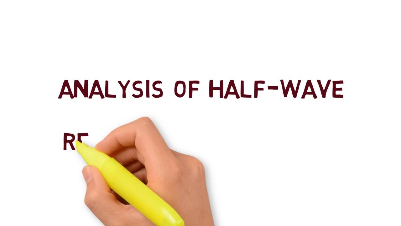 Ripple factor of Half wave Rectifier
