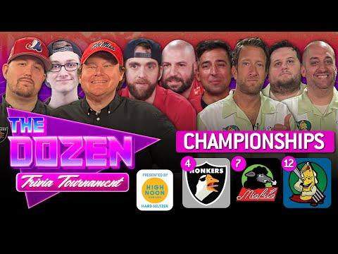 Honkers vs. Misfits/TBD vs. Ziti (The Dozen: Trivia Tournament Championships pres. by High Noon)