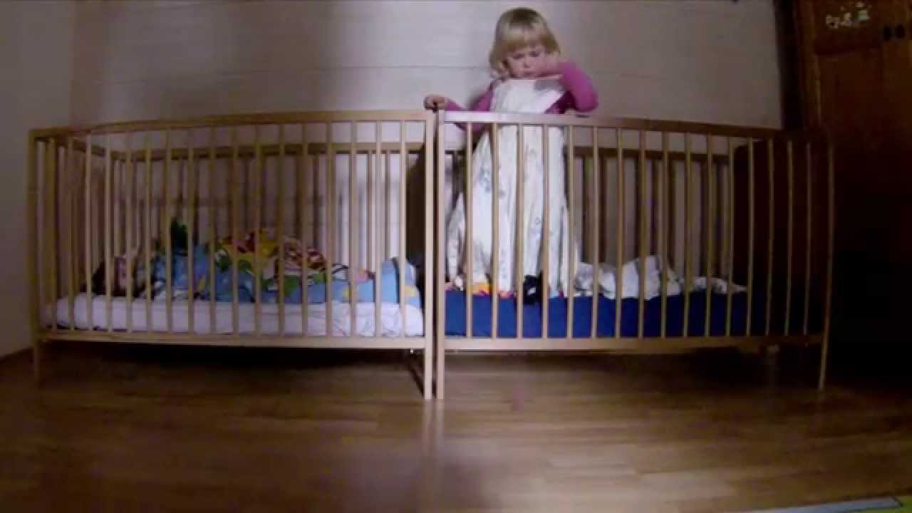 Baby bed in nigeria - Baby Bed Youtube Funny Baby Mission Impossible 2 Baby Escape With Crib Funny Baby Video