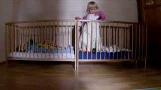 Funny Baby Mission Impossible 2 - Baby Escape With Crib -- Funny Baby Video, Funny Twins