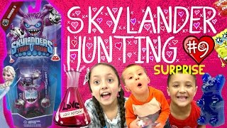 Love Potion Pop Fizz Surprise Adventure W/ Valentines Day Gifts! (skylanders Trap Team Hunting #9)