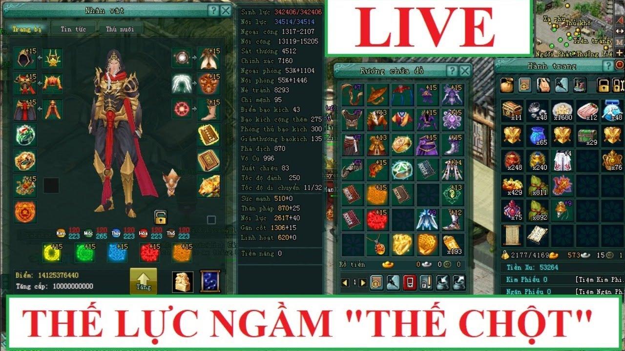 """[LIVE] Dân chơi ngầm mang tên """"ThếChột"""" phong cách chơi mang sự khác biệt – VLTK 2(VNG)"""