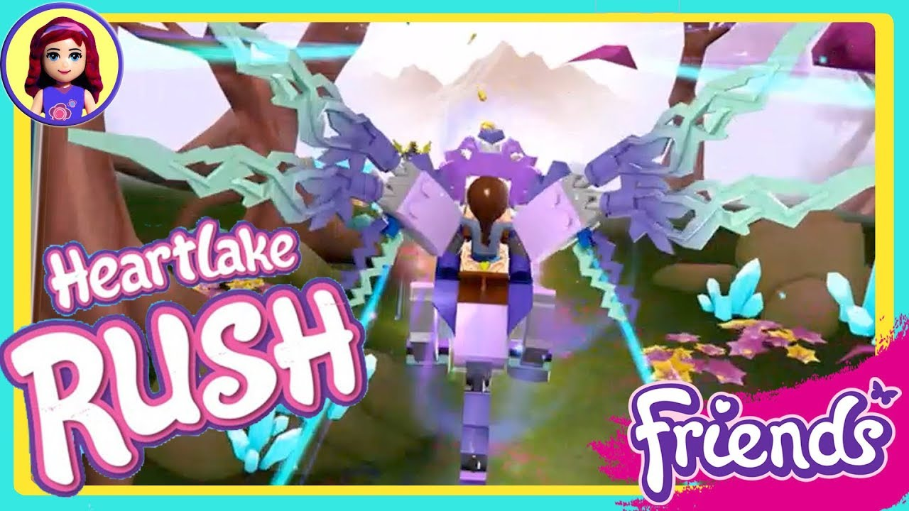 Elves Update Lego Friends Heartlake Rush App Gameplay Youtube