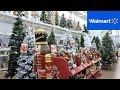 CHRISTMAS 2018 SECTION AT WALMART - CHRISTMAS TREES DECORATIONS ORNAMENTS HOME DECOR SHOPPING