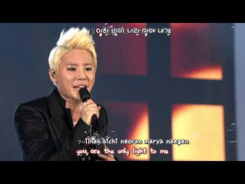 JYJ - The Boy's Letter 소년의 편지 (2013 Concert in Tokyo Dome) [eng + rom + hangul + karaoke sub]