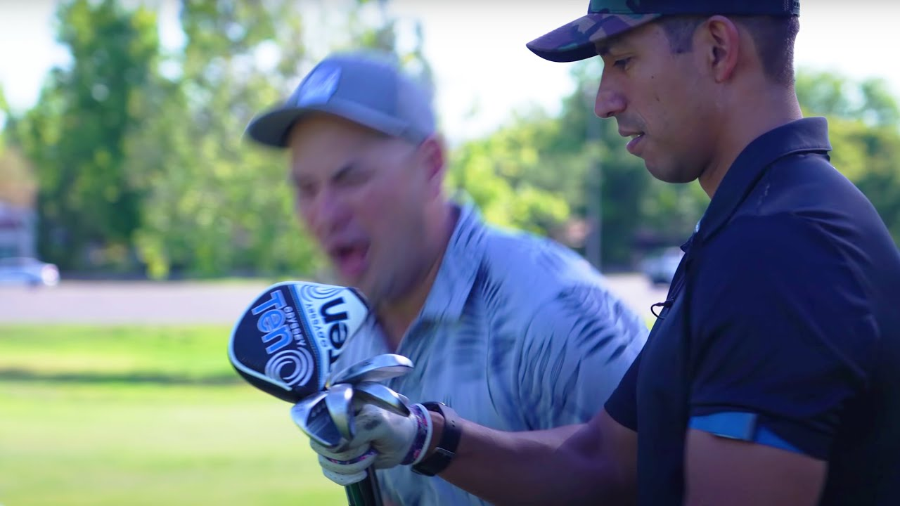 We Challenged A +5 Handicap To A Match! // 3 Clubs vs Full Bag