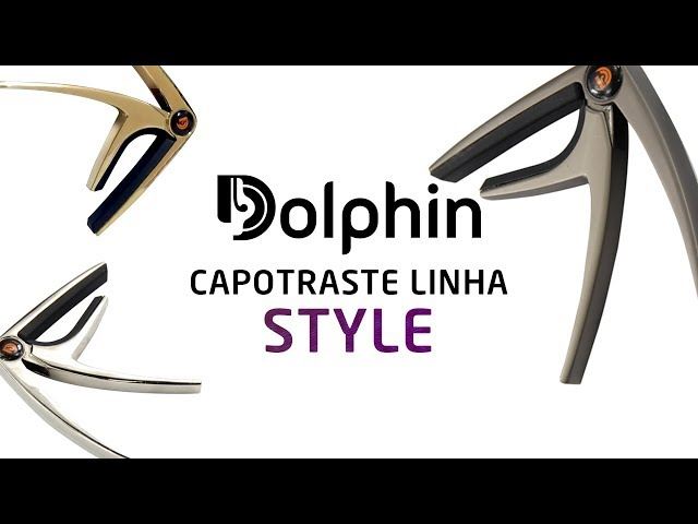 [IZZO ACADEMY] Capotraste Linha Style Dolphin