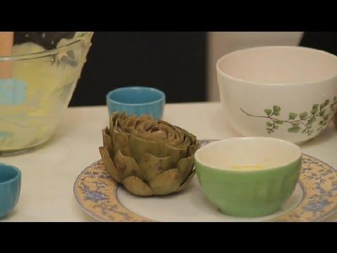 Traditional Dip for Artichokes : Using Artichokes