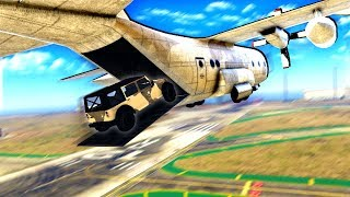 Incredible Cargo Plane Escape after Stealing $2,000,000 from the Military in GTA 5!