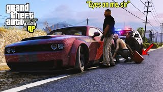 Cop DISTRACTS Guy so I Can Steal His Gas! (GTA RP) thumbnail