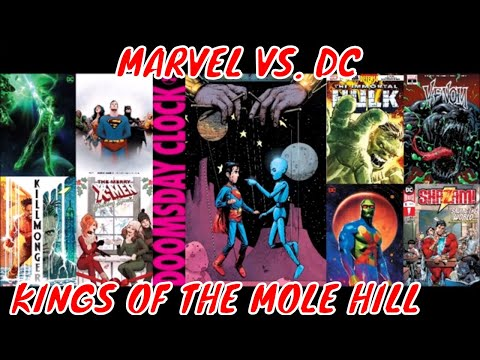Kings Of A Dying Comic Book Industry : Marvel Vs. DC Comics