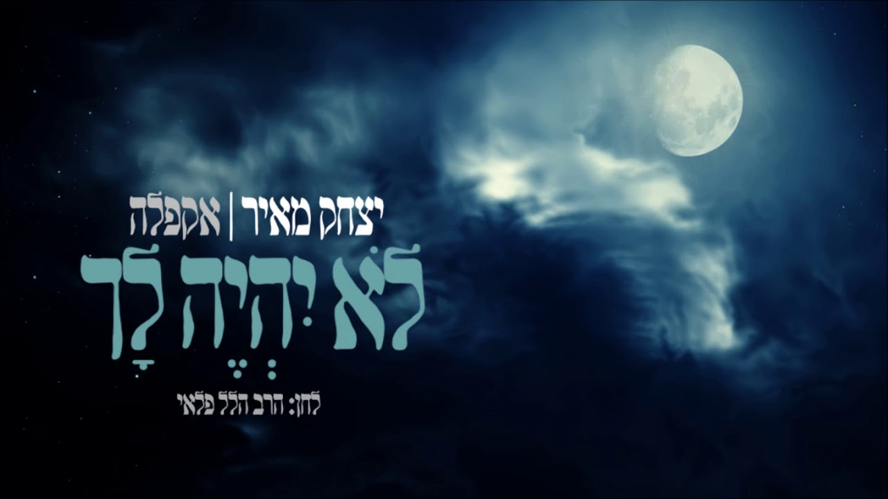 ווקאלי -  מיוחד לבין המצרים - לא יהיה לך // יצחק מאיר // הרב הלל פלאי