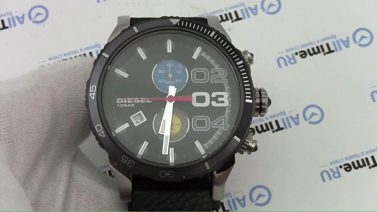 6700d84d Обзор. Мужские наручные часы Diesel DZ4331 с хронографом - YouTube