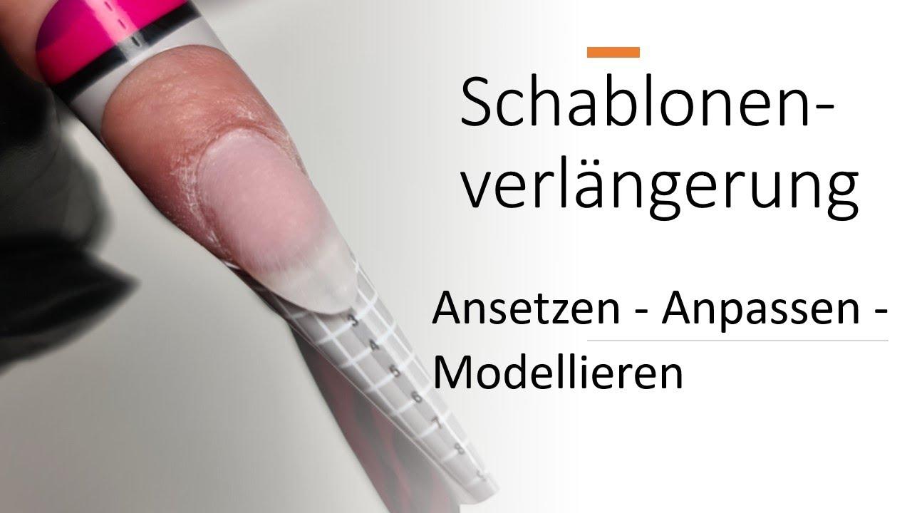 Schablonenverlängerung - Tipps & Tricks// Fibre Forms Schablonengel
