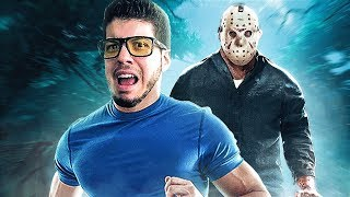 FRIDAY THE 13TH GAME!! (RUN FROM JASON)