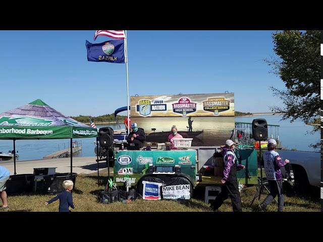 Kansas Junior Bass Nation Qualifier #2 Weigh In.