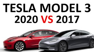 2017 VS 2020 Tesla Model 3: How Much Has the Model 3 Improved Since 2017?
