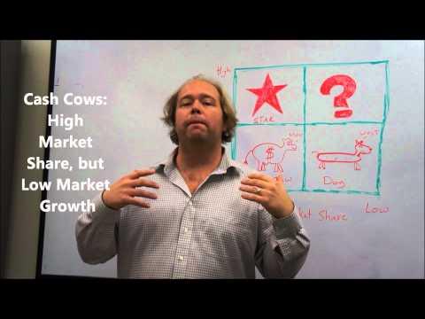 Portfolio Analysis Explained - The BCG Matrix