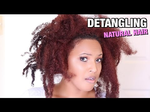 how-to-detangle-matted-&-tangled-natural-hair-without-ripping-it-out!