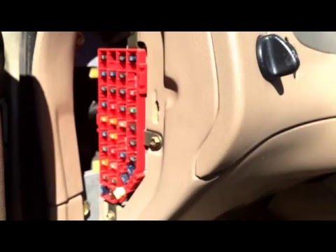 95 Ford Ranger 23l 30a Fuse For Eec Power In Fuse Box Has