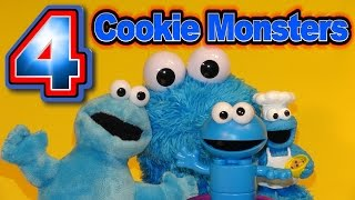 Cookie Monster Blind Bag from Sesame Street with Count n