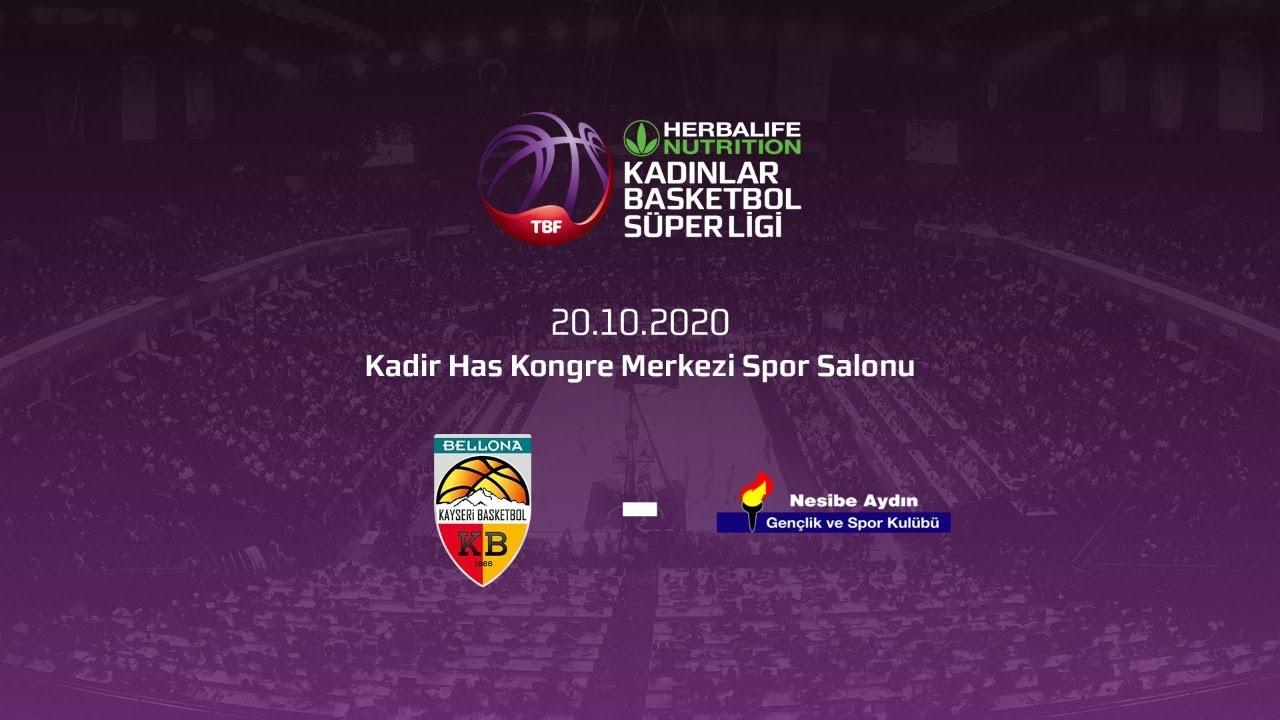 Bellona Kayseri Basketbol – Nesibe Aydın Herbalife Nutrition KBSL 5.hafta