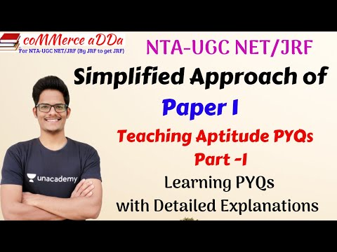 part-i-|-simplified-approach-of-paper-1-pyqs-|-nta-ugc-net-|-teaching-aptitude-pyqs-with-explanation