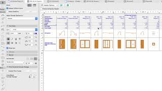 Doors and Windows Schedules - ARCHICAD Training Series 3 - 74/84