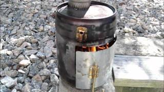 Diy Tent Wood Stove  Proto #1